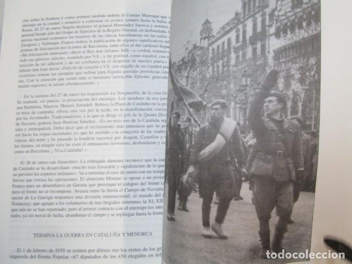 Militaria: HISTORIA ESENCIAL DE LA GUERRA CIVIL ESPAÑOLA - RICARDO DE LA CIERVA - EDITORIAL FENIX 1996 1.5kg + - Foto 5 - 293504778