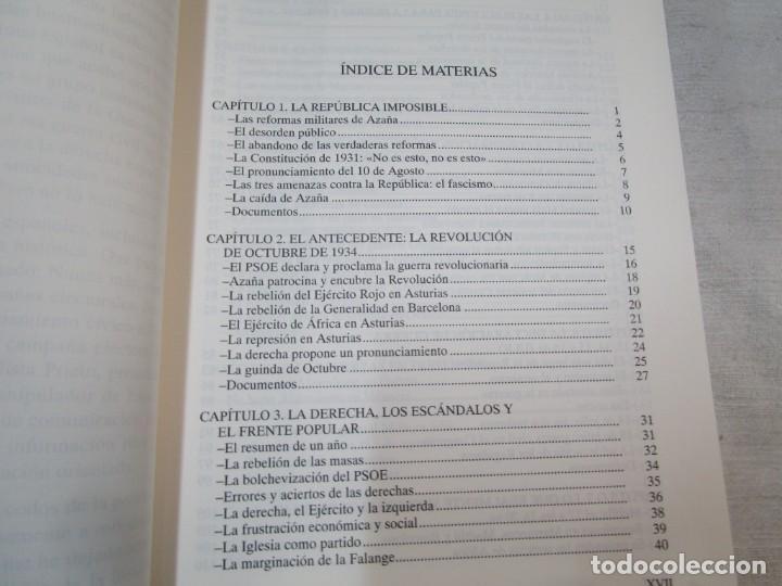 Militaria: HISTORIA ESENCIAL DE LA GUERRA CIVIL ESPAÑOLA - RICARDO DE LA CIERVA - EDITORIAL FENIX 1996 1.5kg + - Foto 7 - 293504778