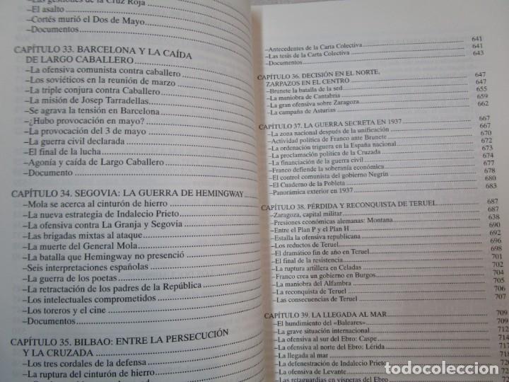 Militaria: HISTORIA ESENCIAL DE LA GUERRA CIVIL ESPAÑOLA - RICARDO DE LA CIERVA - EDITORIAL FENIX 1996 1.5kg + - Foto 10 - 293504778