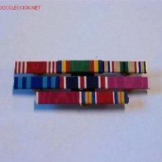 Militaria: PASADOR MEDALLA CON 8 CINTAS. Lote 2630794