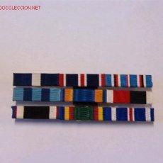 Militaria: PASADOR MEDALLA CON 9 CINTAS. Lote 3857511