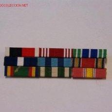 Militaria: PASADOR MEDALLA CON 9 CINTAS. Lote 2560231