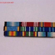 Militaria: PASADOR MEDALLA CON 9 CINTAS. Lote 3868214