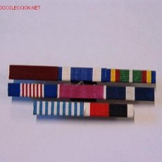 Militaria: PASADOR MEDALLA CON 8 CINTAS. Lote 2616354