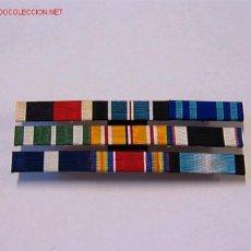 Militaria: PASADOR MEDALLA CON 9 CINTAS. Lote 3739888