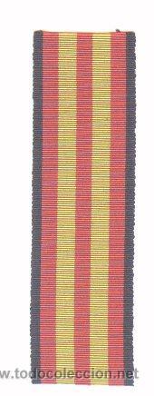 CINTA PARA MEDALLA DE LA GUERRA CIVIL. (Militar - Cintas de Medallas y Pasadores)