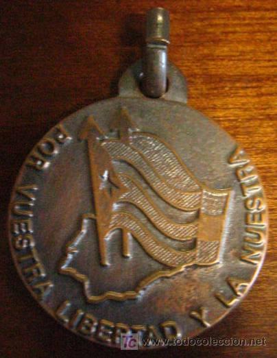MEDALLA BRIGADAS INTERNACIONALES, CUBA (Militar - Medallas Españolas Originales )