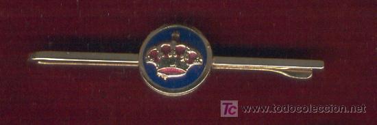DOS PASADORES CORBATA CORONA REAL (Militar - Cintas de Medallas y Pasadores)