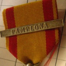 Militaria: MEDALLA A LOS EJÉRCITOS EN OPERACIONES, PASADOR PAMPLONA, SIN AGUJA. Lote 13662144