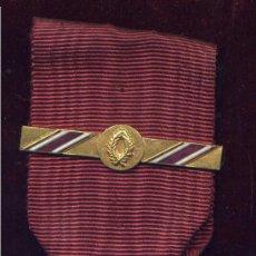 Militaria: BÉLGICA. ORDEN DE LA CORONA. CRUZ DE CABALLERO. CON PASADOR . Lote 3713561
