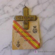 Militaria: MEDALLA GUERRA CIVIL, CON SU SOBRE MEDAL CIVIL WAR, WITH HIS ON . Lote 26695083