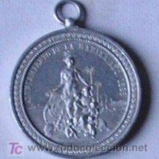 Militaria: MEDALLA DEL BLOQUEO DE LA HABANA DURANTE LA GUERA DE CUBA 1896-98, EN ALUMINIO. RMAR07.121. Lote 11286510
