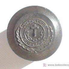 Militaria: TROQUEL ORIGINAL DE INSIGNIA MILITAR GUERRA CIVIL. HERMANDAD DE CAUTIVOS POR ESPAÑA.. Lote 25112148