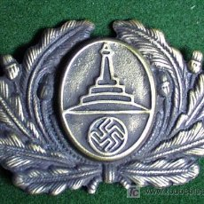 Militaria: ALEMANIA III REICH - INSIGNIA METALICA NSRKB PARA GORRA - COPIA.. Lote 26435722