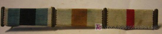 PASADOR DE 3 MEDALLAS (Militar - Cintas de Medallas y Pasadores)
