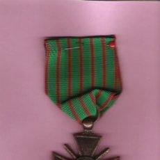 Militaria: CRUZ DE GUERRA FRANCIA 1914- 18 . Lote 25545147