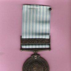Militaria: ONU MEDALLA DE COREA GENERAL MAC CARTHUR 1950. Lote 20400655