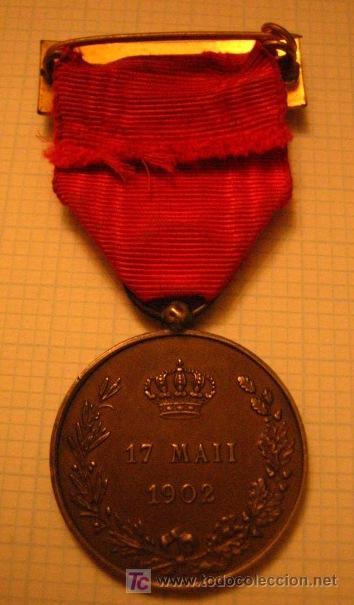 Militaria: Medalla Distinción a Alfonso XIII - Foto 2 - 6691802
