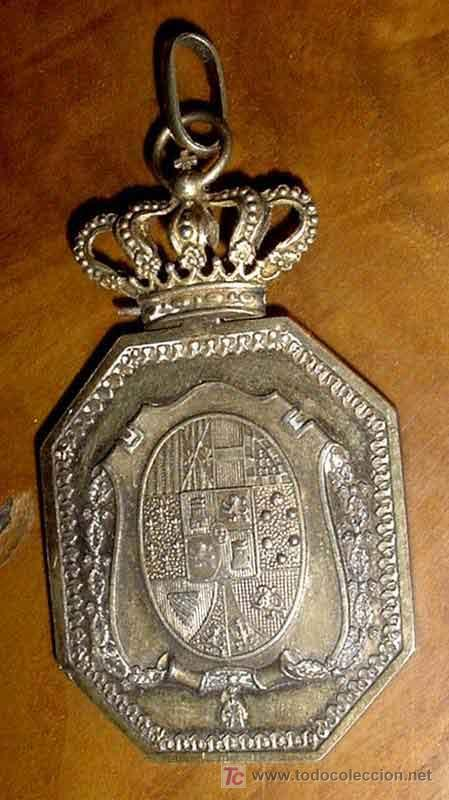 VENERA DE JUDICATURA. JUSTICIA MILITAR - CREO QUE DE EPOCA DE ALFONSO XIII. PLATA. RARA. JUDGE BADGE (Militar - Medallas Españolas Originales )