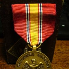 Militaria - medalla norteamericana national defense - 7980810
