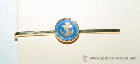 ANTIGUO PASADOR DE CORBATA - MARINA - TAL COMO SE VE EN LA FOTOGRAFIA. (Militar - Cintas de Medallas y Pasadores)