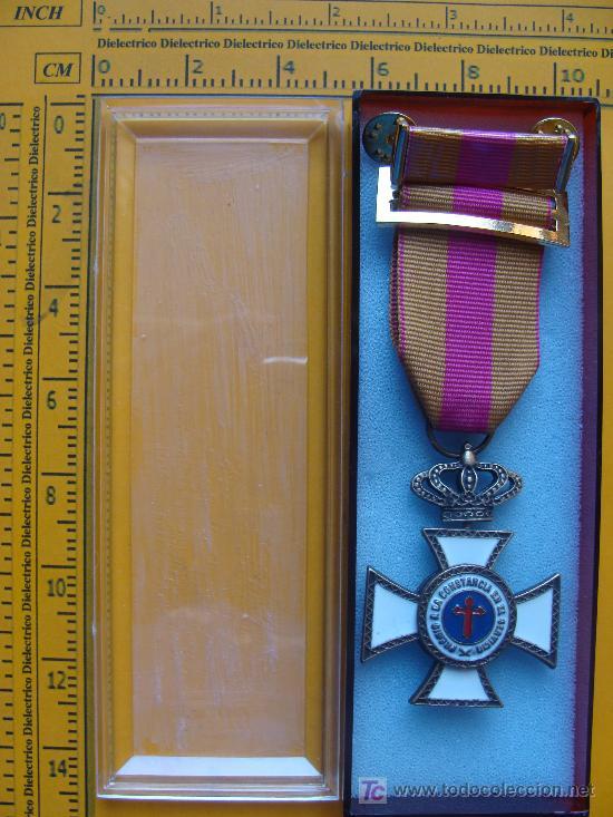 MEDALLA MILITAR. CRUZ DE BRONCE A LA CONSTANCIA EN EL SERVICIO. 15 AÑOS. PERFECTO. (Militar - Medallas Españolas Originales )