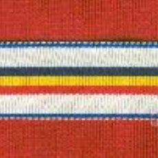Militaria: 2 METROS CINTA PARA MEDALLA MTO. NAVAL DE LA REPUBLICA-ANCHO CINTA 1.50CM.. Lote 95656988