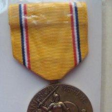 Militaria - MEDALLA MILITAR USA. DEFENSA AMERICANA. SERVICIO PREVIO SEGUNDA GUERRA MUNDIAL. PRECINTADA. - 9561496
