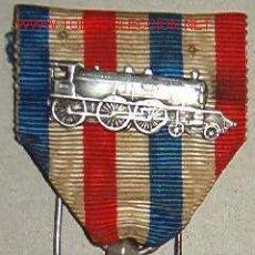 Militaria: MEDALLA DE LOS FERROVIARIOS.. Lote 18373354