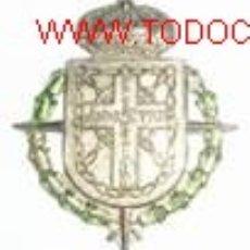 Militaria: MEDALLA DE NAVARRA, CONMEMORATIVA DEL ANIVERSARIO DE LA CRUZADA, 1936-1961. ANVERSO, ESCUDO LAUREAD. Lote 12987604