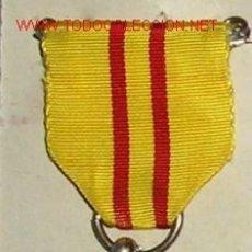 Militaria: MEDALLA DE SUFRIMIENTOS POR LA PATRIA, PARA TROPAS EXTRANJERAS. CON CINTA CORRESPONDIENTE. G.Nº 78. Lote 26323384