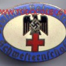 Militaria: ALEMANIA III REICH CRUZ ROJA ALEMANA. SCHWERTENSHAFT. NUMERADA.. Lote 19843269