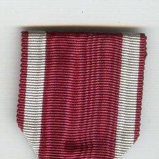 Militaria: BELGICA ORDEN DE LA CORONA BILINGUE CON CORONA Y CINTA. Lote 23275437