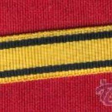 Militaria: 10 MTS.CINTA PARA MEDALLITA MTO. SANITARIO DE 1 CM.. Lote 165002856