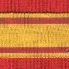 Militaria: 2 METROS CINTA PARA MEDALLA SAN SEBASTIAN O ALFONSO XII DE 2CM. DE ANCHO. Lote 112860258