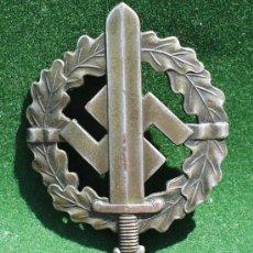 Militaria: ALEMANIA III REICH - CONDECORACION A UNIDADES SA + DOCUMENTO DE CONCESION.. Lote 26351712