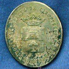 Militaria: MEDALLA CONMEMORATIVA DE LA INAGURACIÓN DEL ACUEDUCTO DE CIENFUEGOS EN CUBA. 1866. Lote 11463328