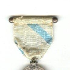 Militaria: MEDALLA CENTENARIO PUENTE DE SAMPAYO (1809-1909). MUY BONITA. RARO PASADOR.. Lote 27110502