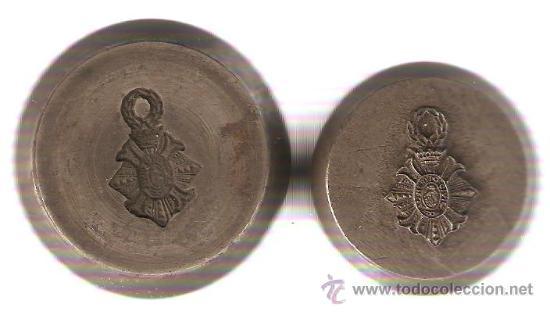 TROQUELES INSIGNIA MERITO CIVIL CORONA ANTIGUA (Militar - Medallas Españolas Originales )