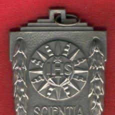 Militaria: MEDALLA ESPAÑOLA DE PREMIO ESCOLAR AÑOS 50-MEDIDA 9 CM.. Lote 25183430
