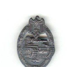 Militaria: ALEMANIA III REICH PLACA DE PECHO CARROS DE COMBATE VERSIÓN PLATA. Lote 23497146