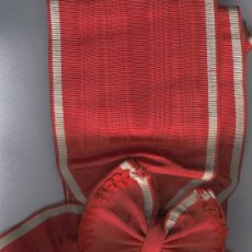 Militaria: BANDA GRAN CRUZ ORDEN DE LA REPUBLICA. Lote 114234516