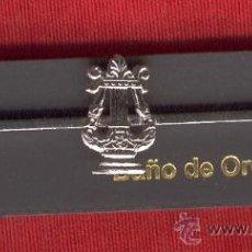 Militaria: LOTE DE 10 PASADORES DE CORBATA DE MUSICO NIQUELADO. Lote 24973935