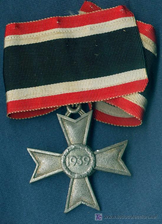 Militaria: ALEMANIA III REICH. Cruz de Caballero de la KVK sin espadas.Muy buena reproducción de los 70-80 - Foto 2 - 12260586