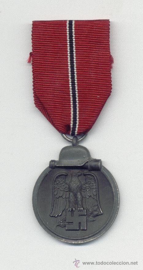 MEDALLA CAMPAÑA DE INVIERNO IMOSTEN 1941-42 MARCAJE 10 (Militar - Medallas Extranjeras Originales)