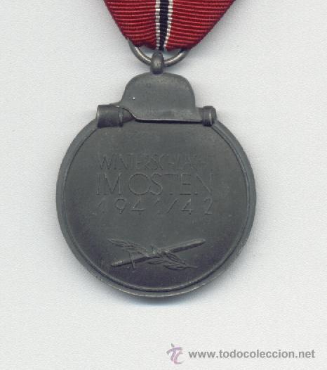 Militaria: MEDALLA CAMPAÑA DE INVIERNO IMOSTEN 1941-42 MARCAJE 10 - Foto 2 - 26319809