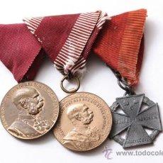 Militaria: BARRA 3-IMPERIAL AUSTRIACA MEDALLA. Lote 27410881