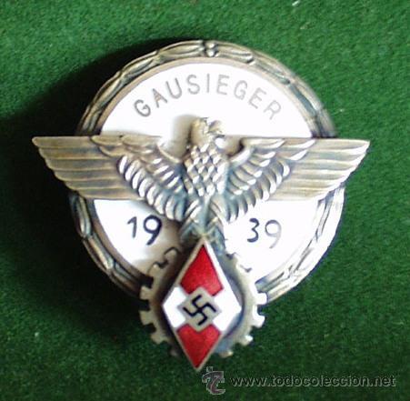 ALEMANIA III REICH - MEDALLA GAUSIEGER 1939 - COPIA. (Militar - Reproducciones y Réplicas de Medallas )