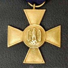 Militaria: CRUZ 25 AÑOS DE SERVICIO EN LA WHERMACHT. ALEMANIA II REICH. Lote 25722790