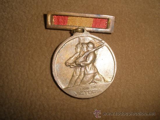 MEDALLA DEL ALZAMIENTO (Militar - Medallas Españolas Originales )